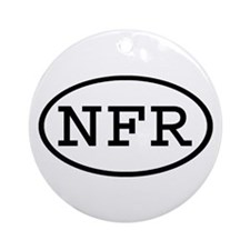 NFR Oval Ornament (Round)