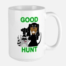 Raccoon Hunting Hound Large Mug