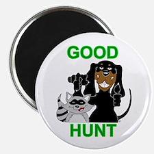 Raccoon Hunting Hound Magnet