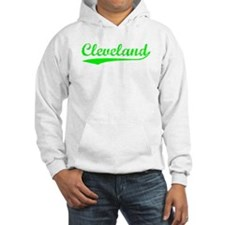 Vintage Cleveland (Green) Hoodie