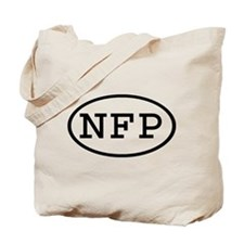 NFP Oval Tote Bag