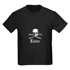 Knitter - Crafty Pirate Skull T