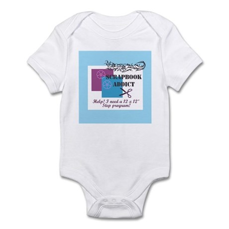 Scrapbook Addict - 12 x 12 St Infant Bodysuit