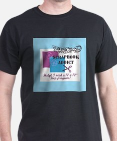 Scrapbook Addict - 12 x 12 St T-Shirt