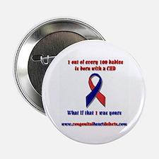 Congenital Heart Defect Awareness Button