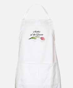 Pink Tulip Mother of Groom BBQ Apron