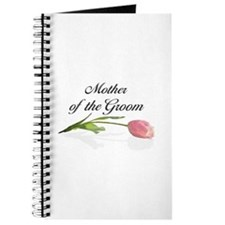 Pink Tulip Mother of Groom Journal