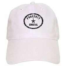 Property of Cristal Baseball Cap