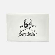 Scrapbooker - Knitter - Craft Rectangle Magnet