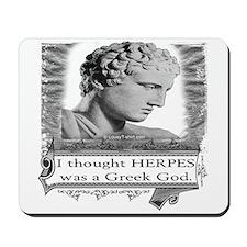 Greek God Herpes Mousepad