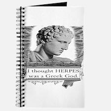 Greek God Herpes Journal