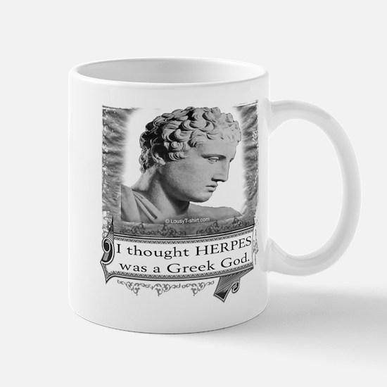 Greek God Herpes Mug