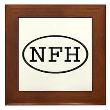NFH Oval Framed Tile