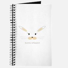 bunny face - straight ears Journal