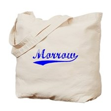 Vintage Morrow (Blue) Tote Bag