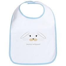 bunny face - lop ears Bib