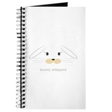 bunny face - lop ears Journal