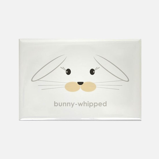 bunny face - lop ears Rectangle Magnet