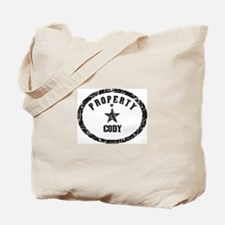 Property of Cody Tote Bag
