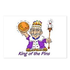 King of the Pins Postcards (Package of 8)