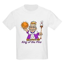 King of the Pins Kids T-Shirt