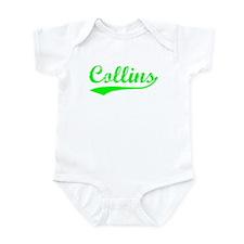 Vintage Collins (Green) Infant Bodysuit