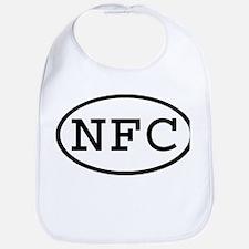 NFC Oval Bib