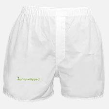 bunny-whipped logo Boxer Shorts
