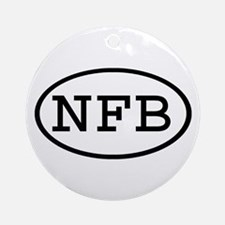 NFB Oval Ornament (Round)