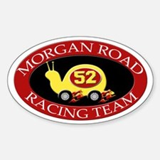 Morgan Road Racing Oval Decal