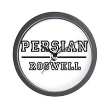 Persian Roswell Wall Clock
