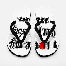 I Love My Camp nursing Mom Flip Flops
