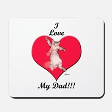 I Give Thee Kitten Father's D Mousepad