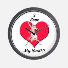 I Give Thee Kitten Father's D Wall Clock