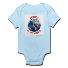 Poker is my World Infant Creeper