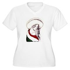 MEXICAN FLAG CHARRA T-Shirt