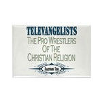 Televangelists Rectangle Magnet (100 pack)