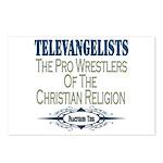 Televangelists Postcards (Package of 8)