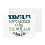 Televangelists Greeting Cards (Pk of 20)