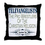 Televangelists Throw Pillow