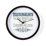 Televangelists Wall Clock