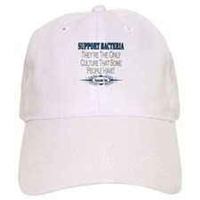 Support Bacteria Baseball Cap