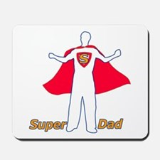 SuperDad Father's Day Super Dad Mousepad