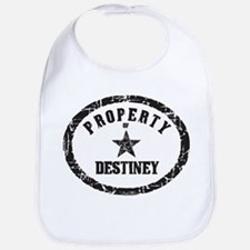Property of Destiney Bib