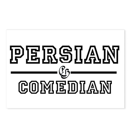 Persian Comedian Postcards (Package of 8)