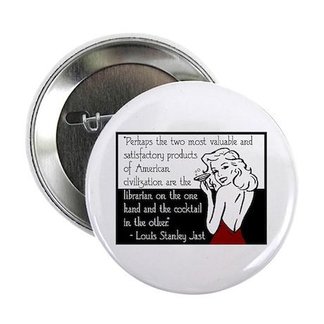 "Librarians & Cocktails 2.25"" Button (100 pack)"