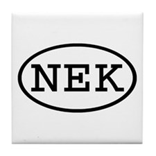 NEK Oval Tile Coaster
