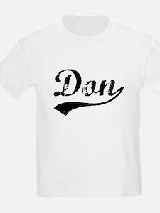 Vintage Don (Black) T-Shirt