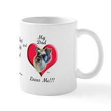 Schnauzer Father's Day Mug