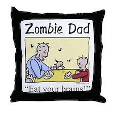 Unique Living dead Throw Pillow